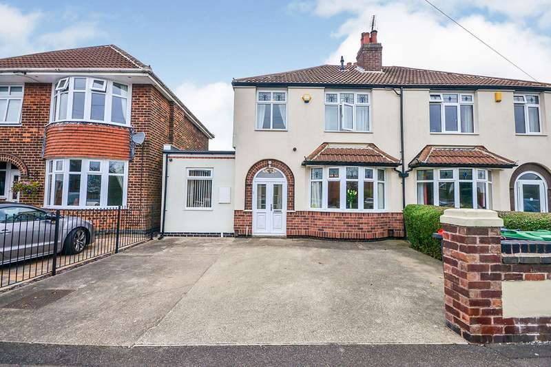4 Bedrooms Semi Detached House for sale in Thoresby Avenue, Kirkby-in-Ashfield, Nottingham, NG17