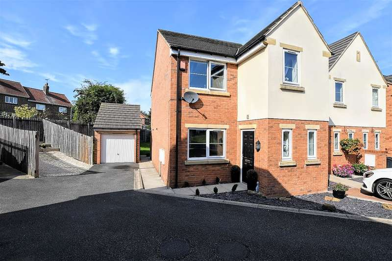 3 Bedrooms End Of Terrace House for sale in Milton Croft, Hoyland, Barnsley, S74 9NS