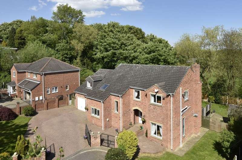 5 Bedrooms Detached House for sale in Norcross Gardens, Darfield, Barnsley