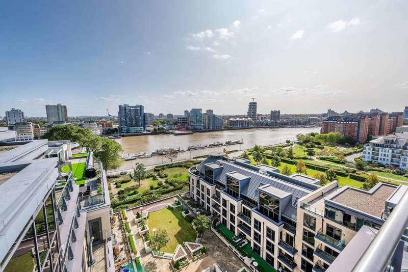 4 Bedrooms Penthouse Flat for sale in Consort House, Imperial Wharf, Imperial Wharf, SW6