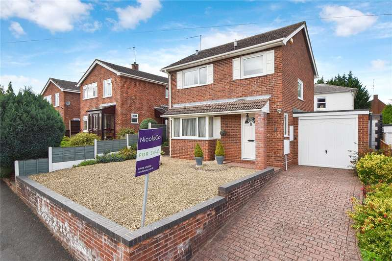 3 Bedrooms Detached House for sale in Sherwood Lane, Worcester, Worcestershire