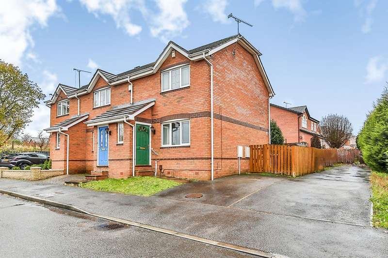 2 Bedrooms End Of Terrace House for sale in John Hibbard Avenue, Sheffield, South Yorkshire, S13