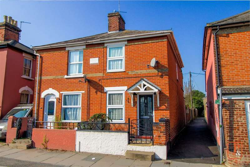 2 Bedrooms Semi Detached House for sale in Wimpole Road, New Town, Colchester, CO1