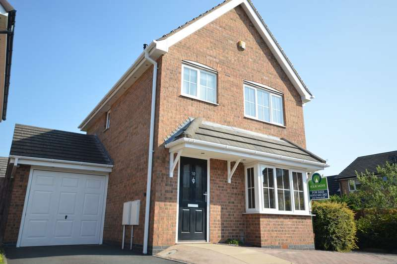 3 Bedrooms Detached House for sale in Tweedale Wharf, Madeley, Telford, TF7