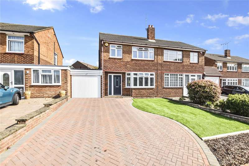 3 Bedrooms Semi Detached House for sale in Summerhouse Drive, Joydens Wood, Bexley, DA2