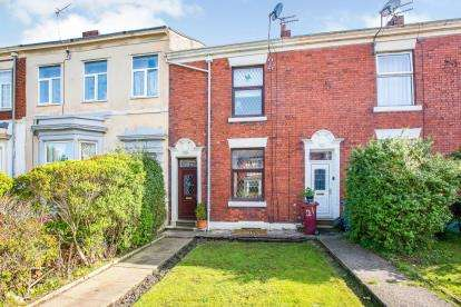2 Bedrooms Terraced House for sale in West View, Redlam, Blackburn, Lancashire, BB2