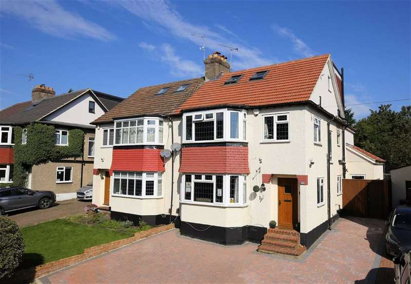 5 Bedrooms Semi Detached House for sale in Brook Road, Epping, Essex
