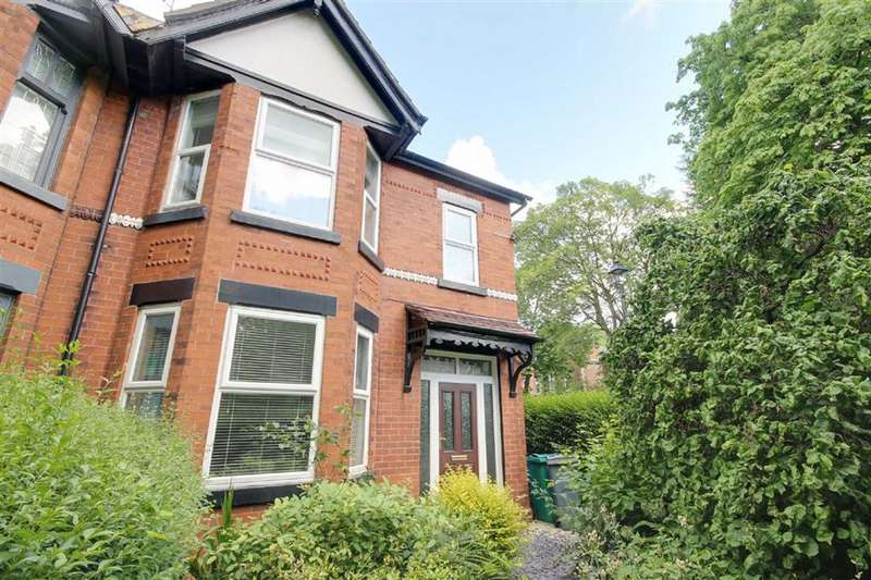 3 Bedrooms Semi Detached House for sale in Central Avenue, Levenshulme