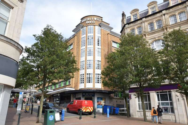 2 Bedrooms Flat for sale in Bristol & West, Post Office Road, Bournemouth, BH1