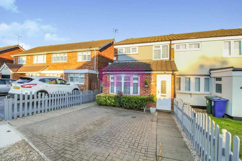 3 Bedrooms End Of Terrace House for sale in St. Pauls Close, Aveley