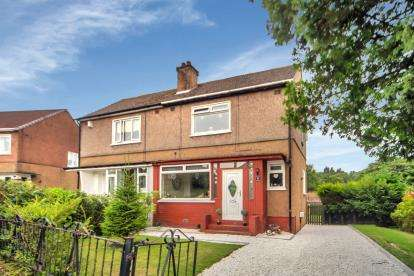 2 Bedrooms Semi Detached House for sale in Spey Road, Bearsden