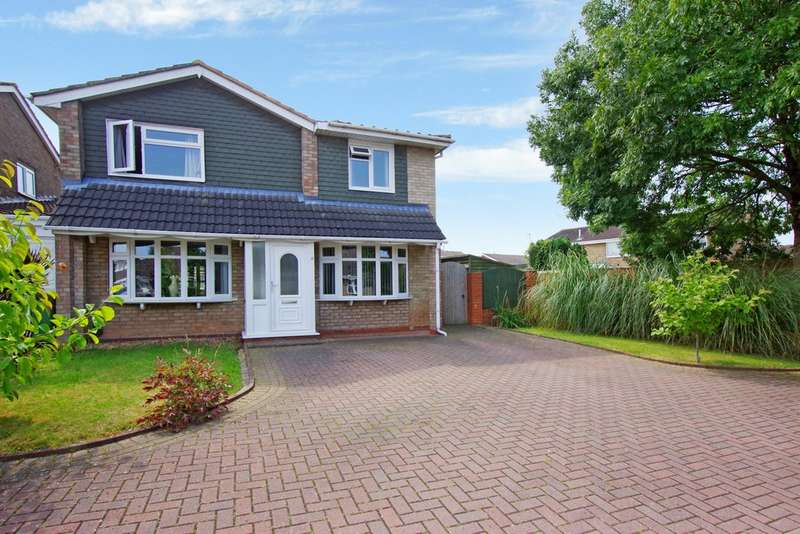4 Bedrooms Semi Detached House for sale in Larksmeadow Vale, Stafford