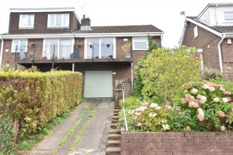 2 Bedrooms Semi Detached Bungalow for sale in Toronto Close, Penmaen, Blackwood, Caerphilly