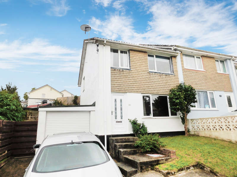 3 Bedrooms Semi Detached House for sale in Treryn Close, St. Blazey, Par
