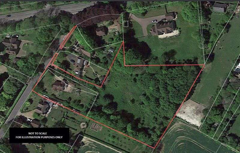 Property for sale in Land to the rear of Millgarth, The Hill, Charing, Ashford