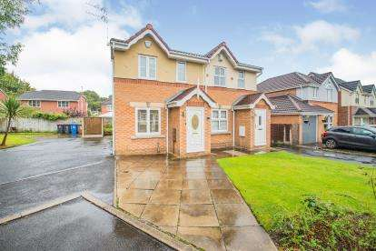 2 Bedrooms Semi Detached House for sale in Harrier Close, Worsley, Manchester, Greater Manchester