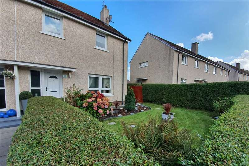3 Bedrooms Semi Detached House for sale in Templeland Rd, Pollok, Glasgow G53