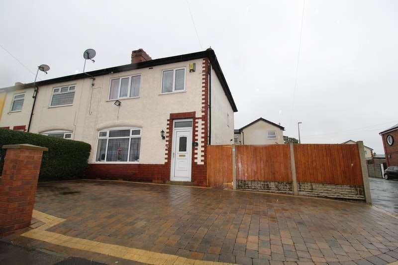 3 Bedrooms Semi Detached House for sale in Moorcroft Crescent, Preston, Lancashire, PR2