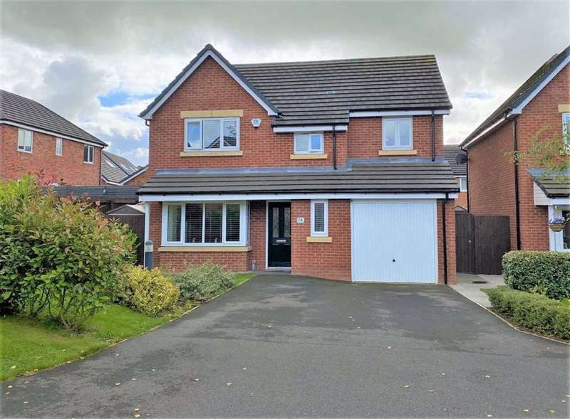 4 Bedrooms Detached House for sale in Sharples Drive, Wrea Green