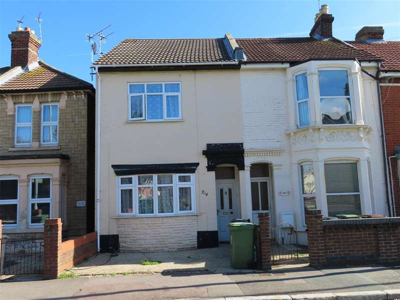 3 Bedrooms End Of Terrace House for sale in Stamshaw Road, Stamshaw, Portsmouth