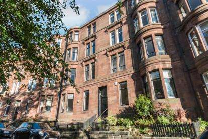 2 Bedrooms Flat for sale in Caird Drive, Partickhill