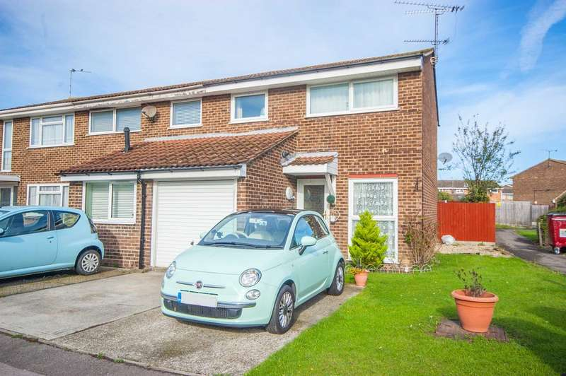 3 Bedrooms End Of Terrace House for sale in Lupin Drive, Springfield, Chelmsford, CM1