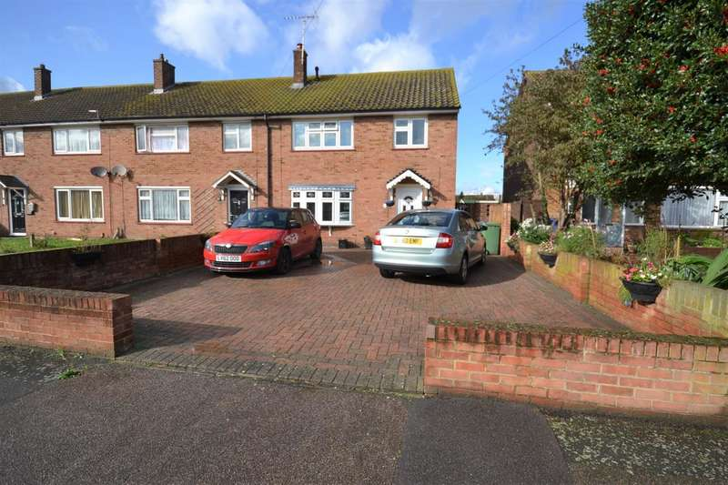 3 Bedrooms End Of Terrace House for sale in Wokindon Road, Chadwell St.Mary