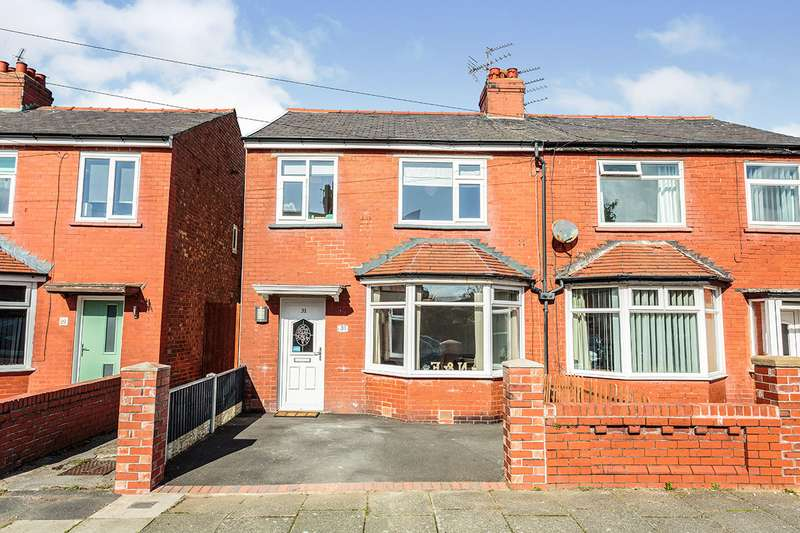 3 Bedrooms Semi Detached House for sale in Abbeyville, Blackpool, Lancashire, FY4