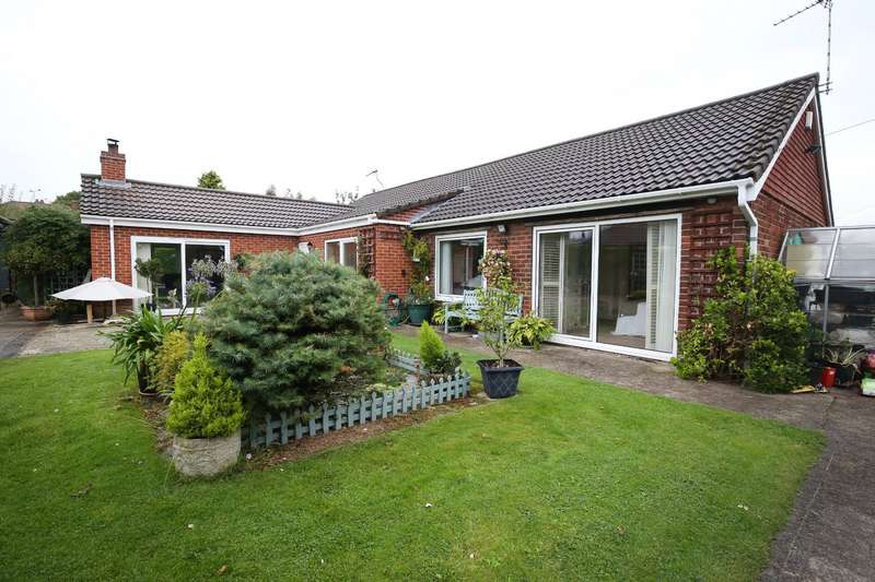 3 Bedrooms Detached Bungalow for sale in Park Avenue, North Anston, Sheffield, South Yorkshire, S25
