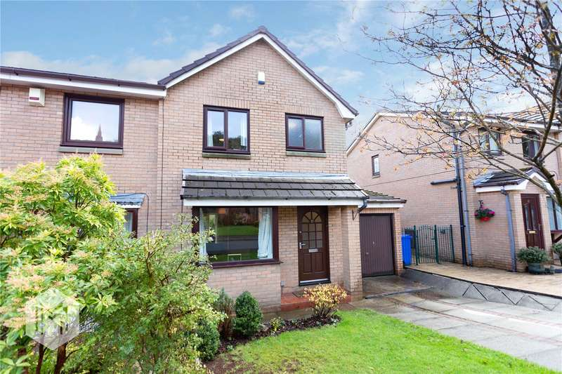 3 Bedrooms Semi Detached House for sale in Carnoustie Drive, Ramsbottom, Bury, BL0