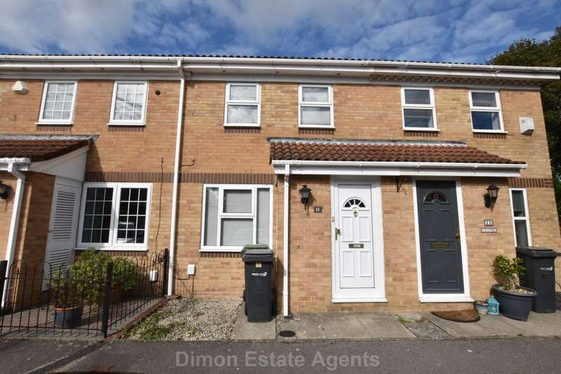 2 Bedrooms Terraced House for sale in Clover Close, Carisbrooke Green