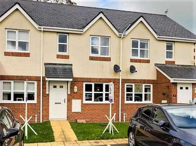 2 Bedrooms Terraced House for sale in Maes Y Coed, Llanddaniel, Llanddaniel