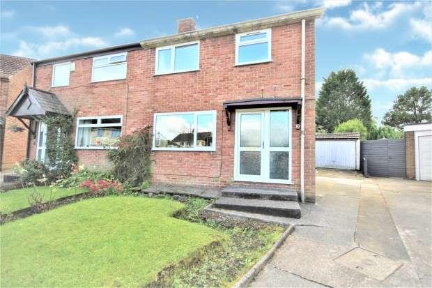 2 Bedrooms Semi Detached House for sale in Buttermere Close, Preston, PR2