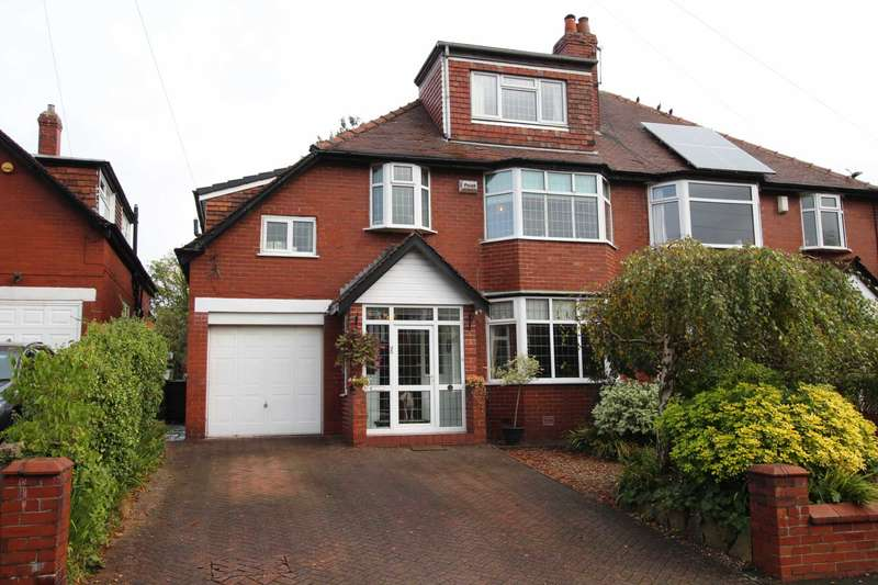 6 Bedrooms Semi Detached House for sale in Branksome Avenue, Prestwich