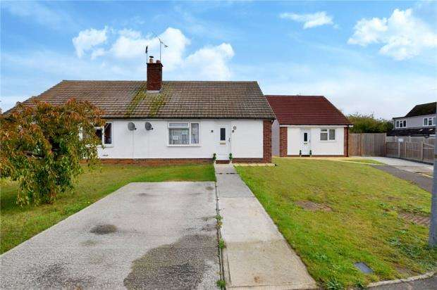 2 Bedrooms Semi Detached Bungalow for sale in St Nicholas Road, Witham, Essex