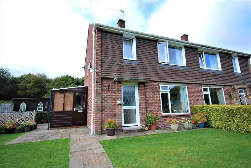 2 Bedrooms Semi Detached House for sale in Lower Grove, Whitsbury, Fordingbridge, Hampshire, SP6