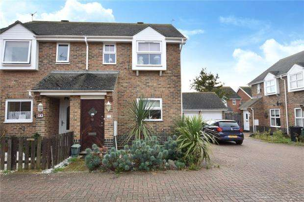 2 Bedrooms Semi Detached House for sale in Little Stone Court, Clacton-on-Sea