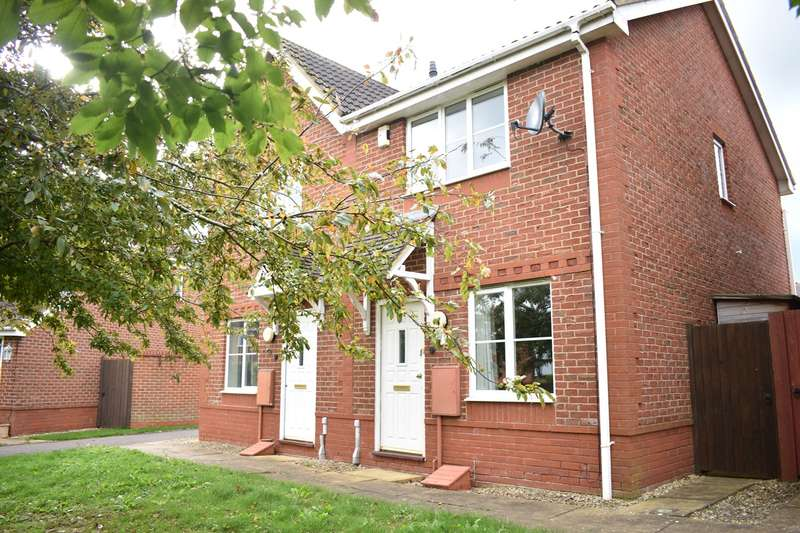 2 Bedrooms Semi Detached House for sale in Malmsey Close, Tewkesbury, GL20