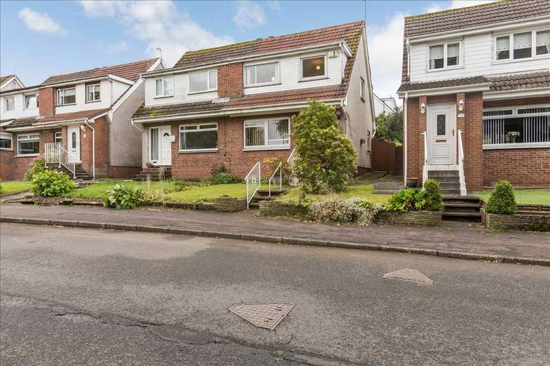 3 Bedrooms Semi Detached House for sale in Forth Court, Mossneuk, EAST KILBRIDE
