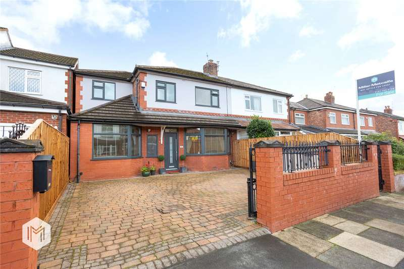 4 Bedrooms Semi Detached House for sale in Houghton Lane, Swinton, Manchester, M27