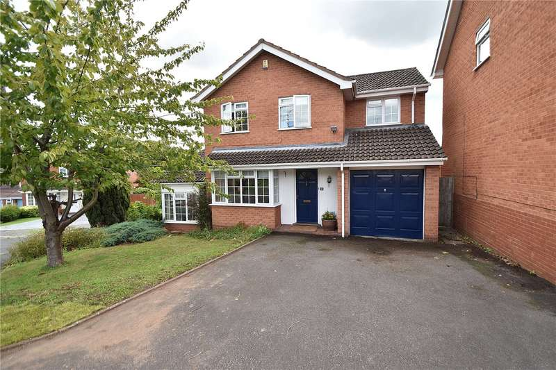 4 Bedrooms Detached House for sale in Low Fold Close, St Johns, Worcester, Worcestershire