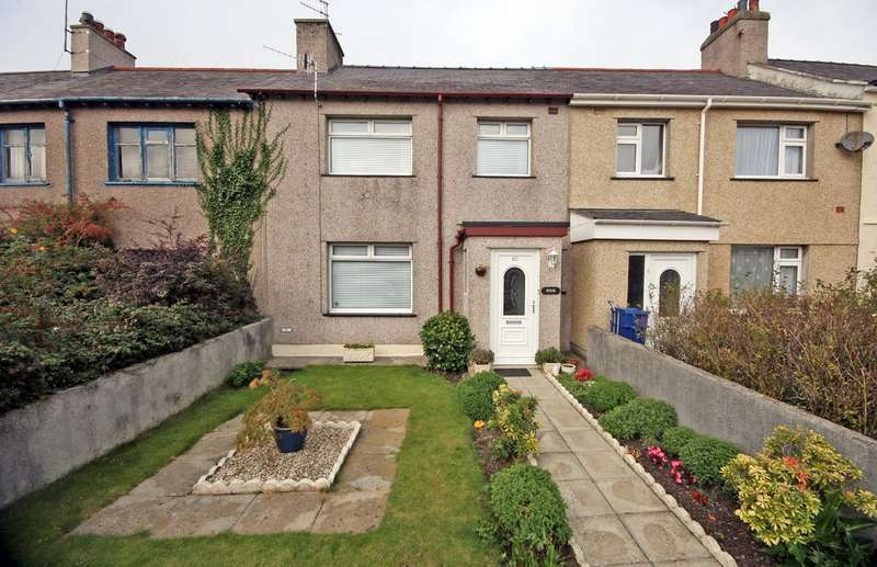 3 Bedrooms Terraced House for sale in Bron Y Garth, Caernarfon, Bron Y Garth, Caernarfon, LL55