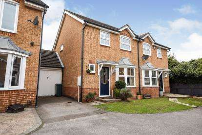3 Bedrooms Semi Detached House for sale in Harold Wood, Romford, Havering