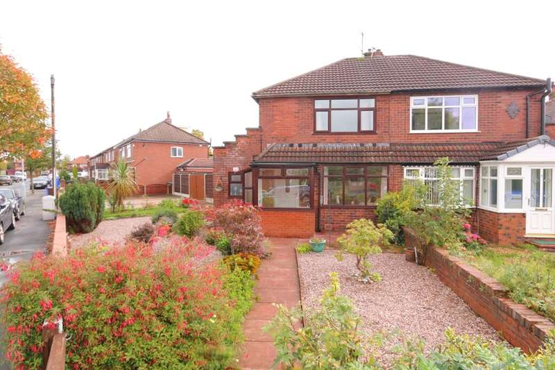 3 Bedrooms Semi Detached House for sale in Anson Road, Denton, Manchester, M34