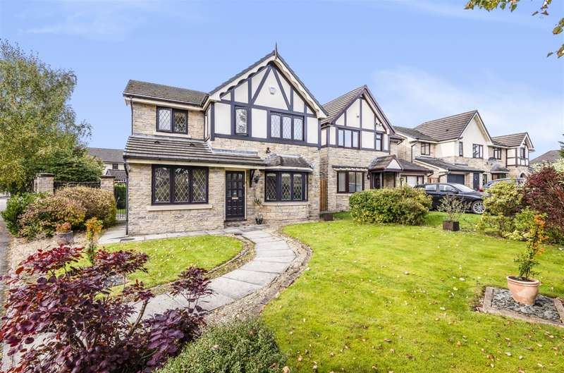 4 Bedrooms Detached House for sale in Godmond Hall Drive, Worsley, Manchester, M28 1YF