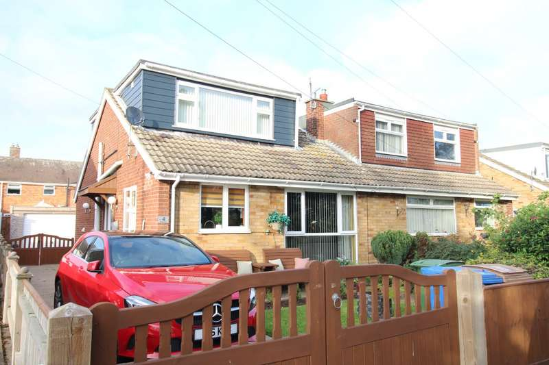 3 Bedrooms Semi Detached Bungalow for sale in Egroms Lane, Withernsea, East Yorkshire, HU19
