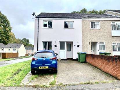 3 Bedrooms End Of Terrace House for sale in Lordshill, Southampton, Hampshire