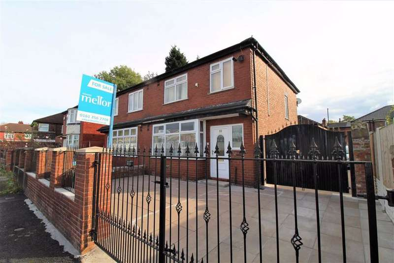 3 Bedrooms Semi Detached House for sale in Newton Avenue, Longsight, Manchester