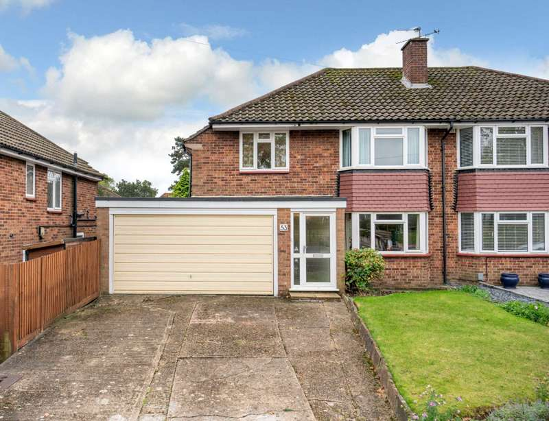 4 Bedrooms Semi Detached House for sale in Warners End Road, Hemel Hempstead