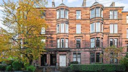 4 Bedrooms Flat for sale in Wilton Street, North Kelvinside